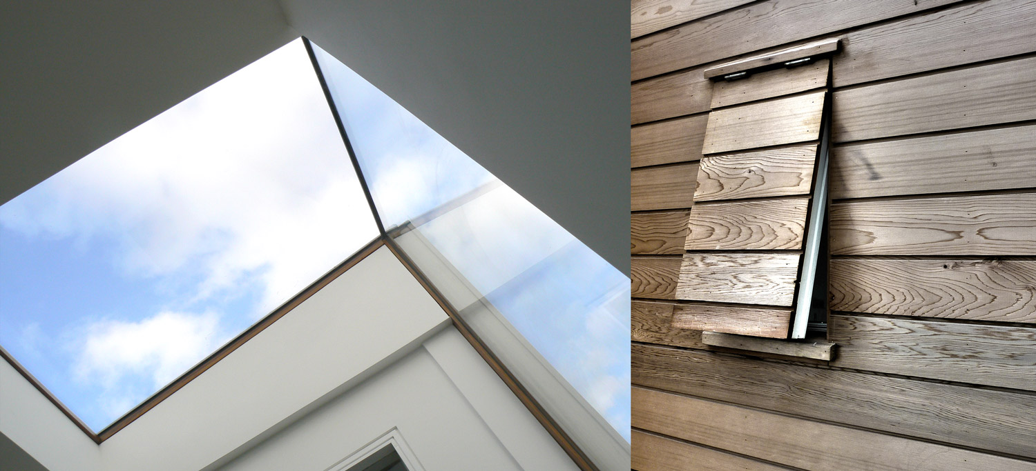 Dor Lewern Architect designed House Cornwall Details