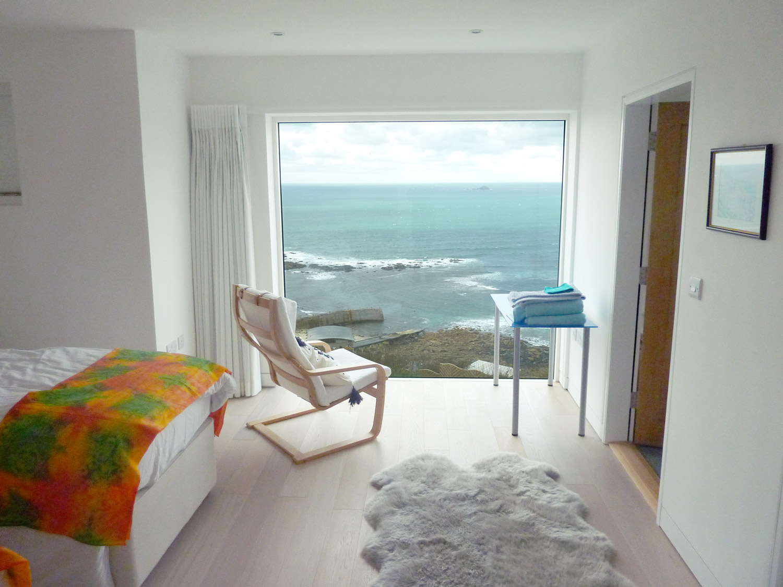 Dor Lewern Architect designed House Cornwall Bedroom