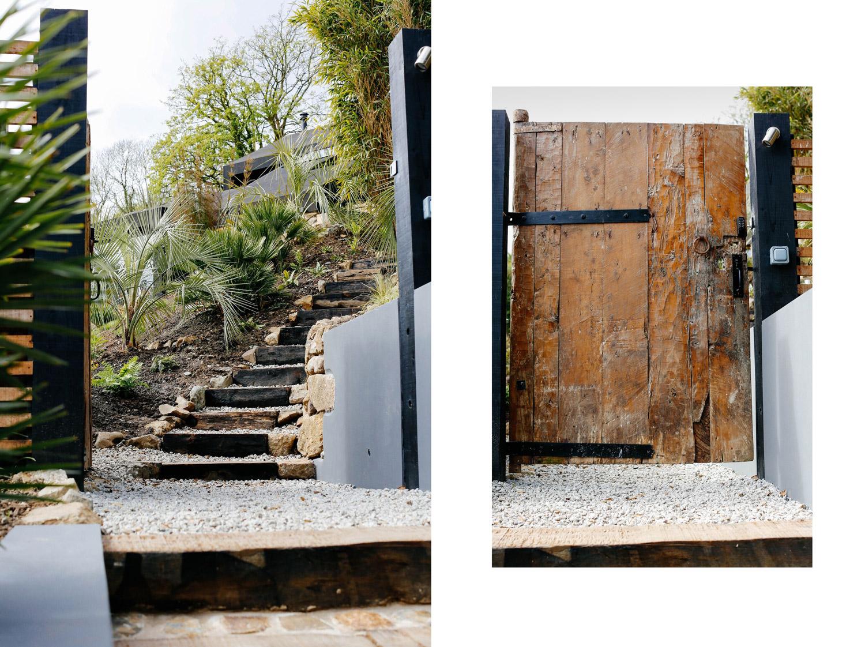 Fallen Angel Bespoke design home Mousehole gate