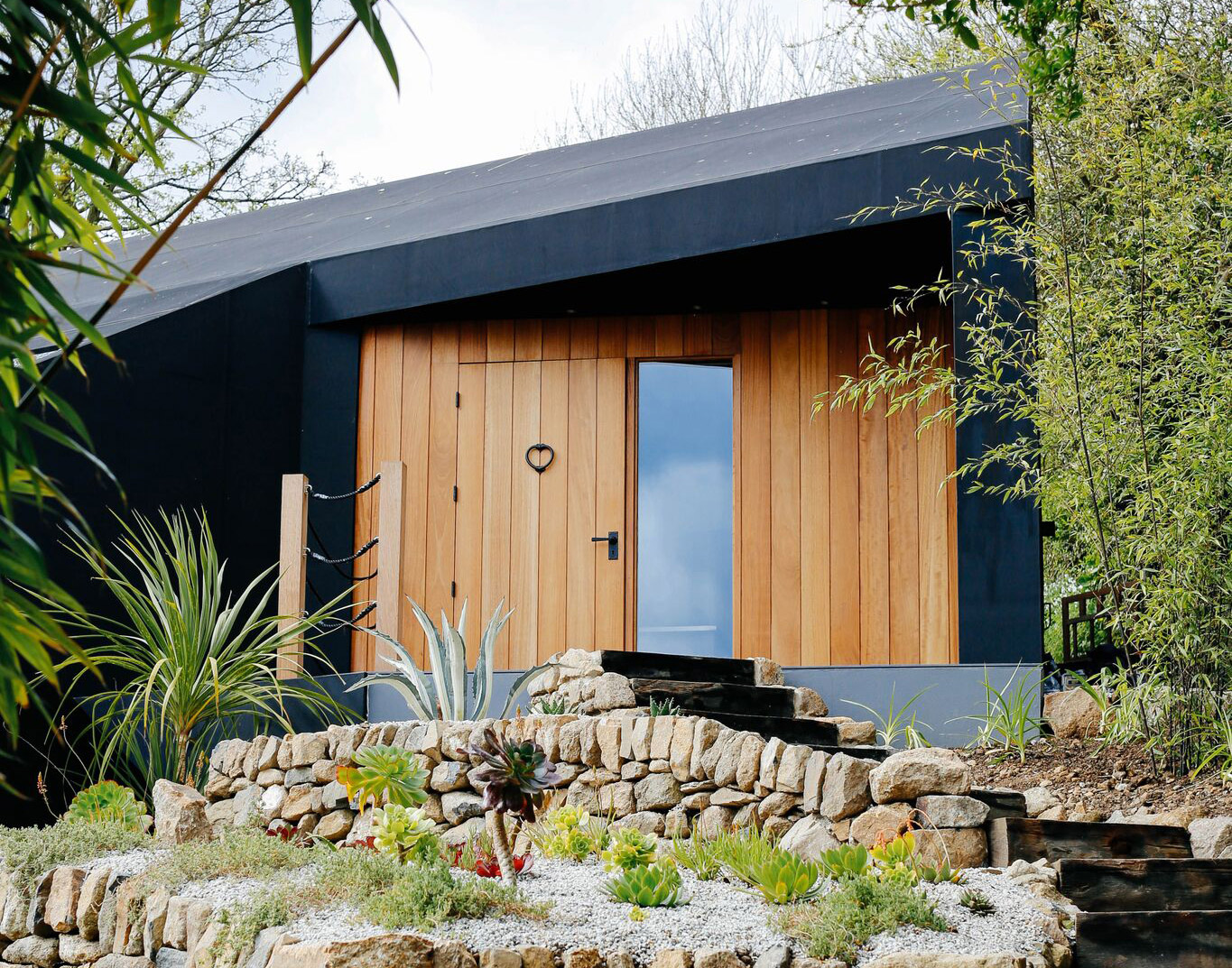 Fallen Angel Bespoke design home Mousehole exterior