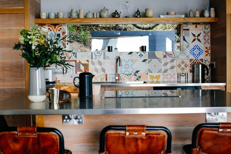 Fallen Angel Bespoke design home Mousehole kitchen