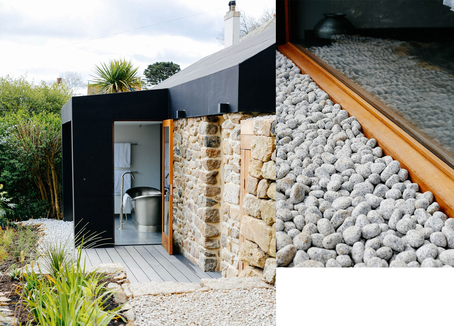 Fallen Angel Bespoke design home Mousehole entrance
