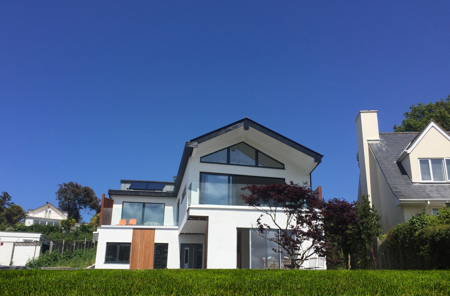 Cornwall Architect designed house - frontage