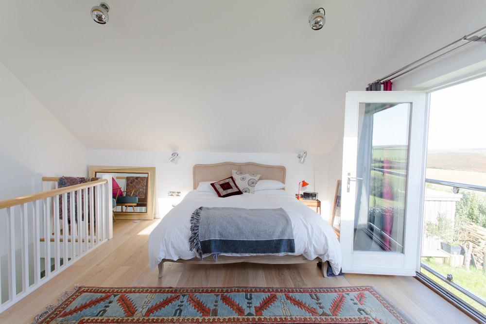 New Forge, Designed Wooden Home, bedroom