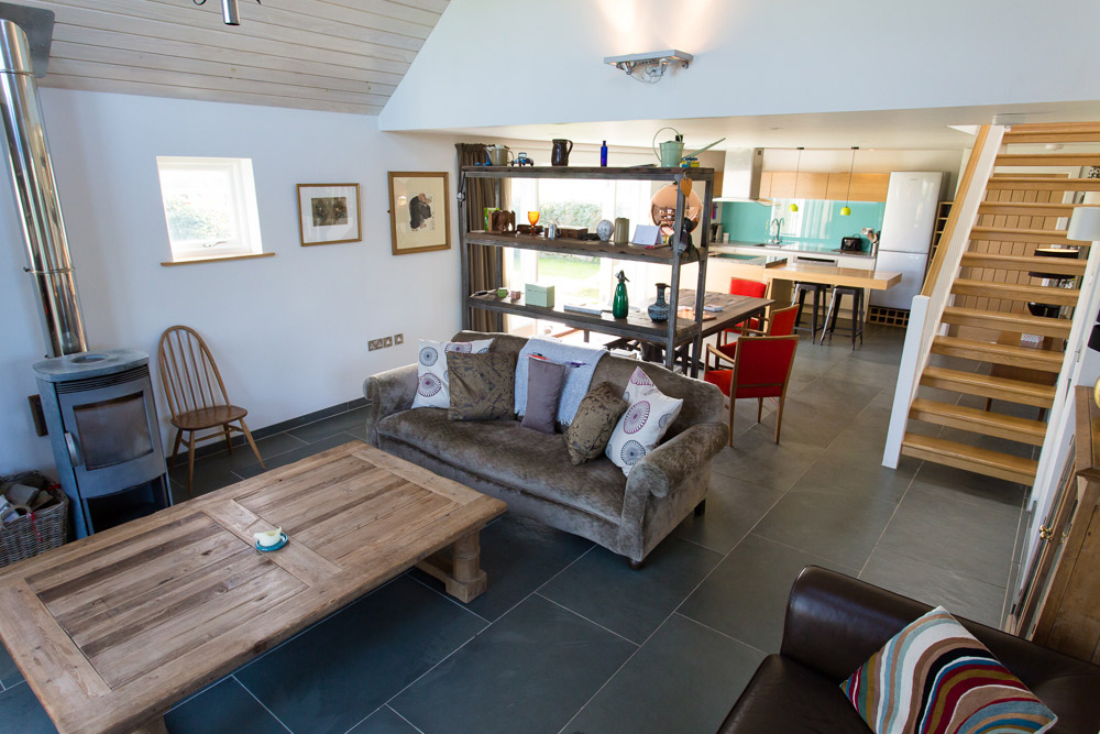 New Forge, Designed Wooden Home, living room