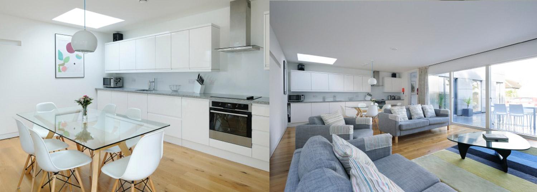 St Ives Architect build house kitchen