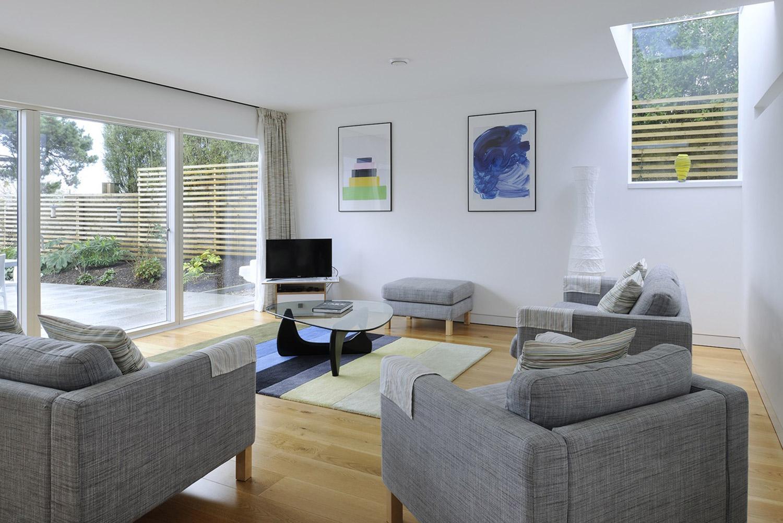 St Ives Architect build house lounge