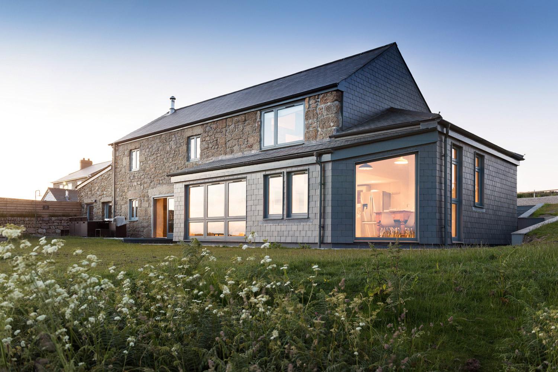 Coastal Home Design in Cornwall rear