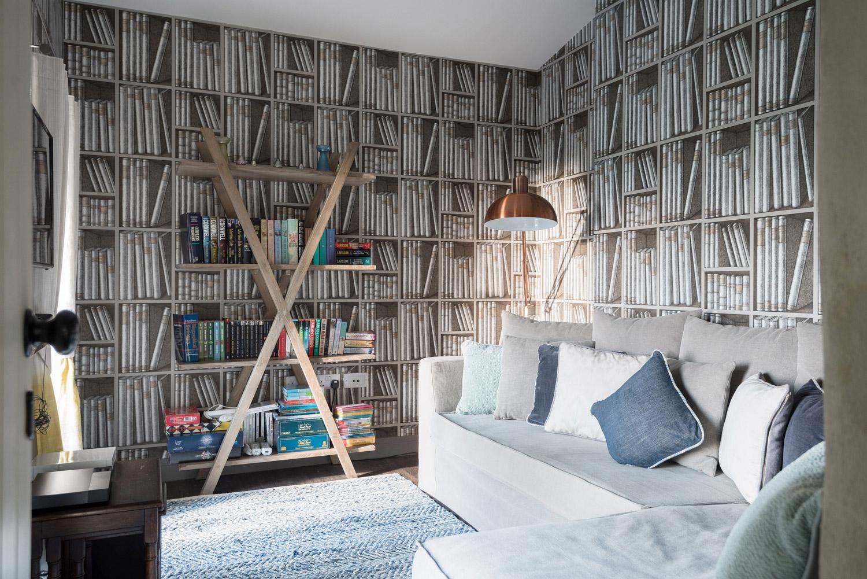 Coastal Home Design in Cornwall snug