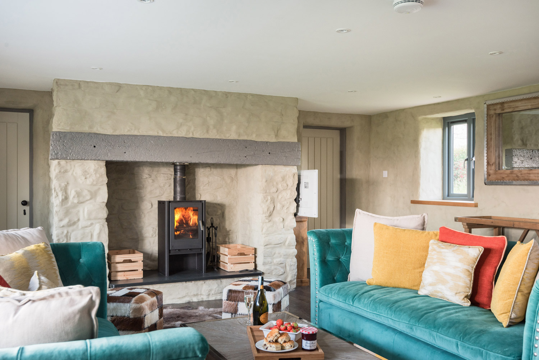 Coastal Home Design in Cornwall lounge