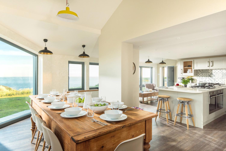 Coastal Home Design in Cornwall kitchen