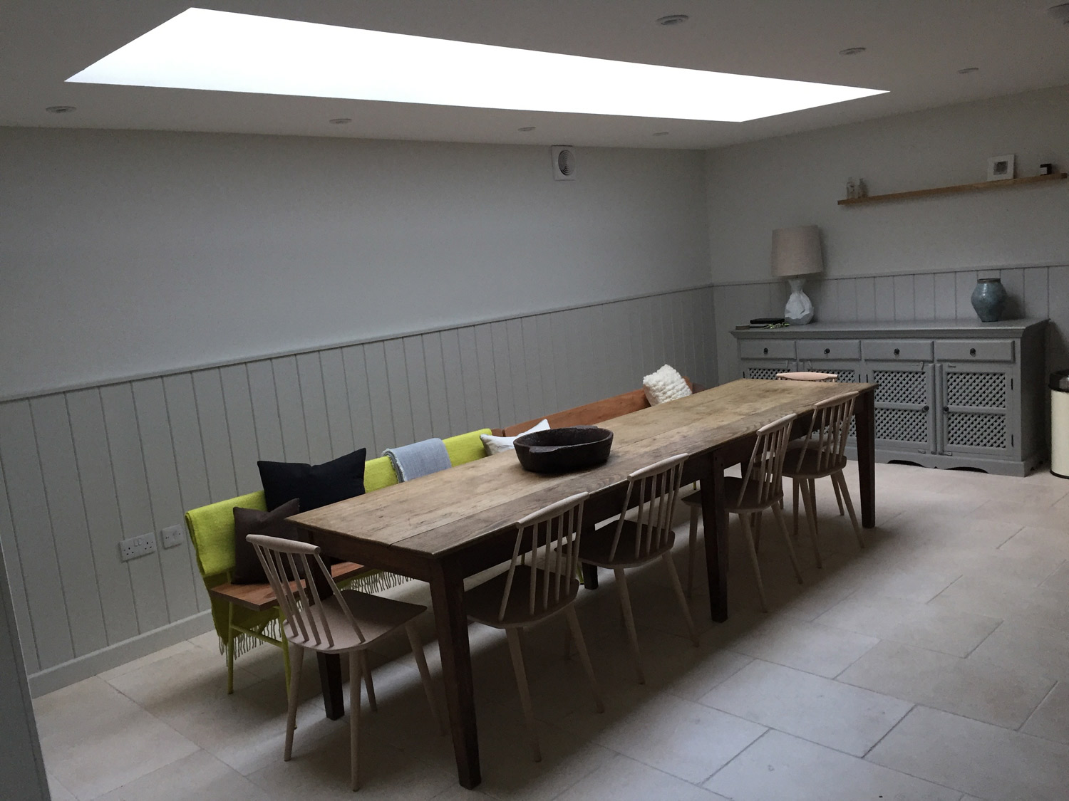 St Ives Cornwall town house renovation dining room