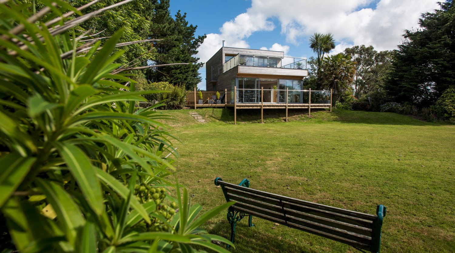 house extension designed by architect in Cornwall