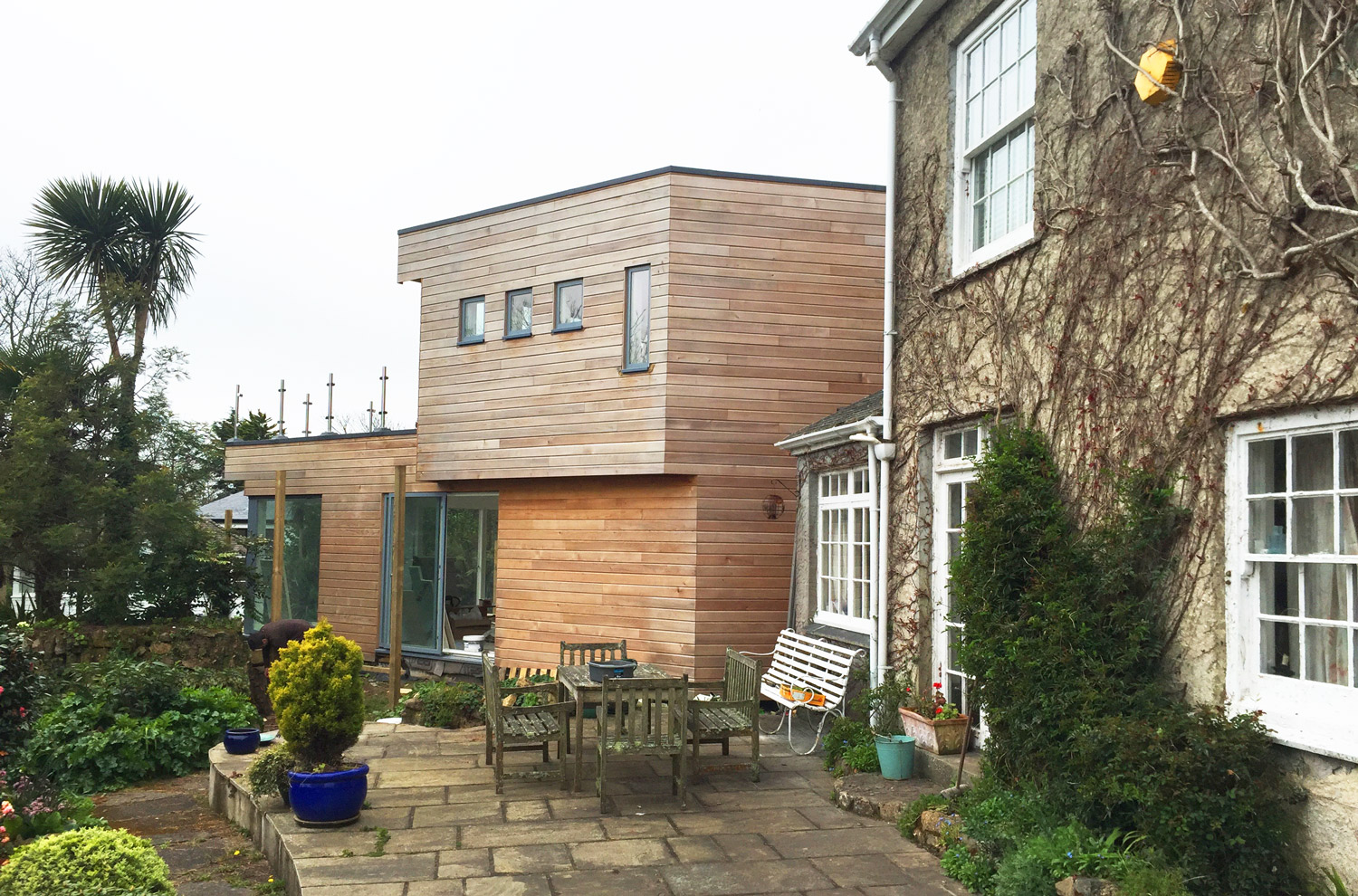 extention designed by architect in Cornwall